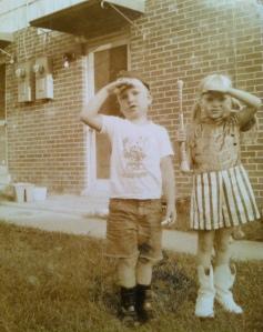 Me and Lloyd